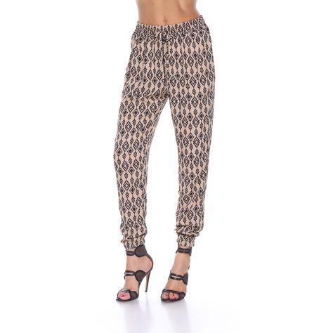 Stanzino Women's Printed Jogger Pants