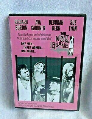 The Night Of Iguana Starring Richard Burton Ava Gardner Deborah Kerr And Sue Lyon Night Of The Iguana Movies For Sale Deborah Kerr