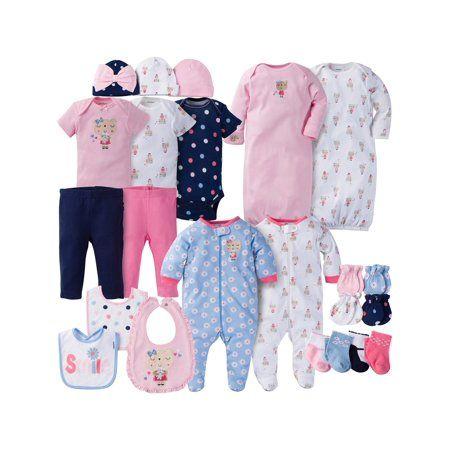 8f235fc1 Newborn Baby Girl Perfect Baby Shower Gift Layette Set, 23-Piece ...