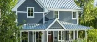 Metal Roofing Prices Per Sq Ft Total Cost Installed Vs Shingles Tin Roof House Metal Roof Colors House Roof