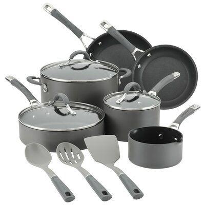 Circulon Radiance 9 Piece Non Stick Cookware Set Cookware Set