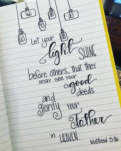 A little doodling on this restful Saturday afternoon biblejournaling doodlesofinstagram light lightoftheworld shine glorifythelord christianliving
