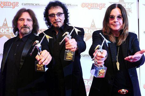 Black Sabbath récompensé aux Classic Rock Awards