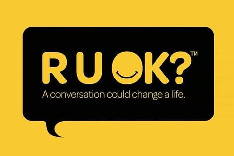 September 12th which is today is R U OK? Day.  This is something  that we have to ask everyday.  Check in with people around you. #ruok #ruokday #ruok2019 #mentalhealth #mentalhealthawareness #awareness #askthequestion #prevention #talktoeachother #havetheconversation #health #wellbeing #wellness #healthy #instahealth #instafitness #instamelbourne #melbourne #healthylifestyle #australia @ruokday