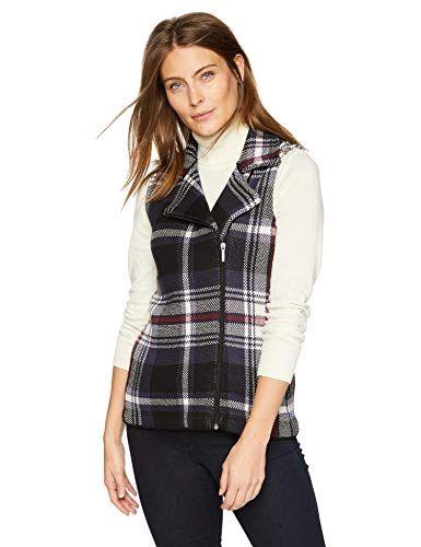 Chaps Womens Sleeveless Cotton-Vest