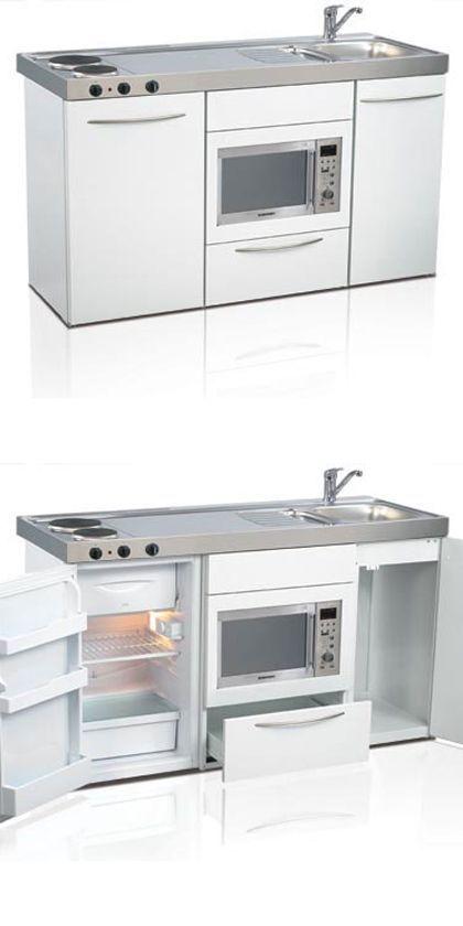 Mini Kitchen Compact Kitchen Tiny Kitchen Small Kitchen Space Saver Kitchen Elfin Kitchens Kitchen Design Small Mini Kitchen Compact Kitchen