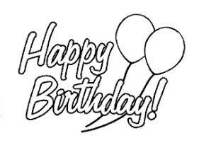 Happy Birthday Ausmalbilder Ausmalen Und Motive