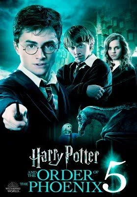 Order Of The Phoenix Harry Potter 5 Harry Potter Movies Harry Potter Movie Posters