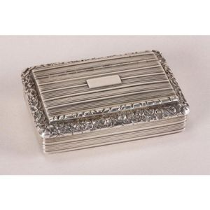 Silver and Silver Plate - Snuff Boxes - price guide and
