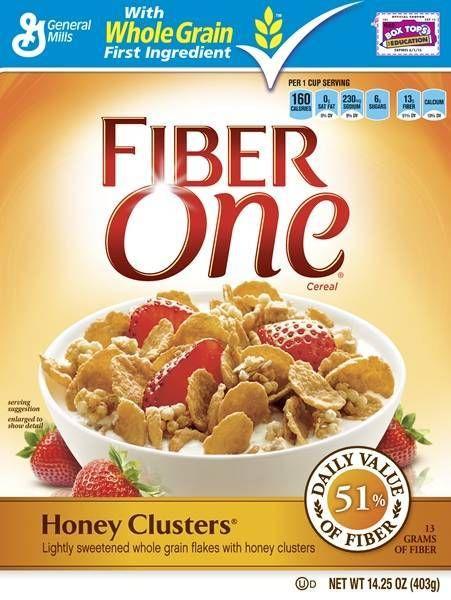 Image Result For Fiber One Cereal Fiber Cereal Clusters Cereal High Fiber Cereal Brands