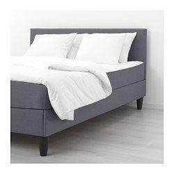 Compleet Bed Met Matras 160x200.Sabovik Boxspring Grijs Stevig In 2019 Ikea Bed Bed