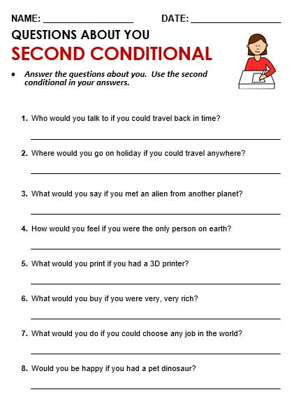 Second Conditional Worksheet In 2020 Grammar Quiz English