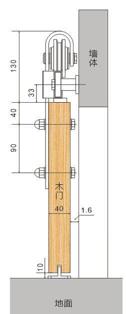 Details Zu Diyhd Rustikalen Holz Schiebeturen Beschlage Antike