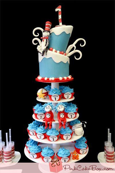 120 Cat Hat Cake Ideas Hat Cake Seuss Cakes Cake