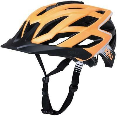 Kali Protectives Lunati Frenzy Helmet Matte Orange//Black Small//Medium