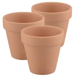 Mini Terra Cotta Clay Pots 3 Ct Packs With Images Terra Cotta Clay Pots Clay Pot Lighthouse Clay Pots