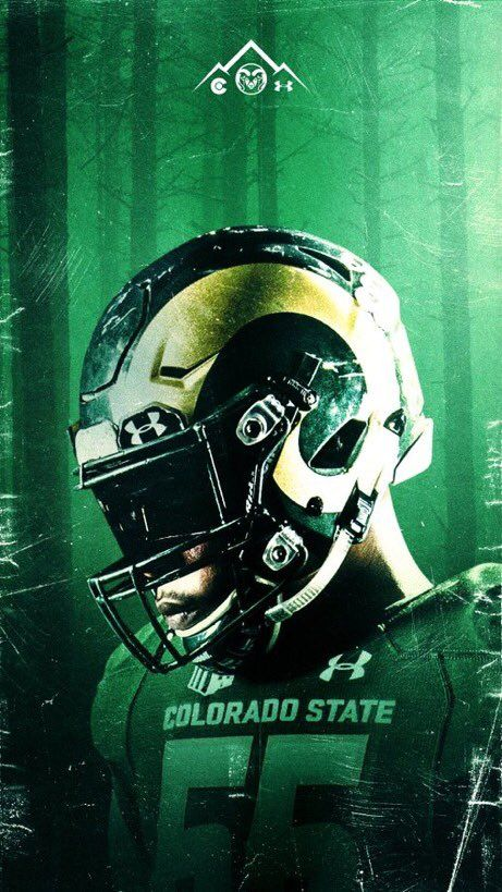 Colorado State Sports Graphics Sport Poster College Athletics