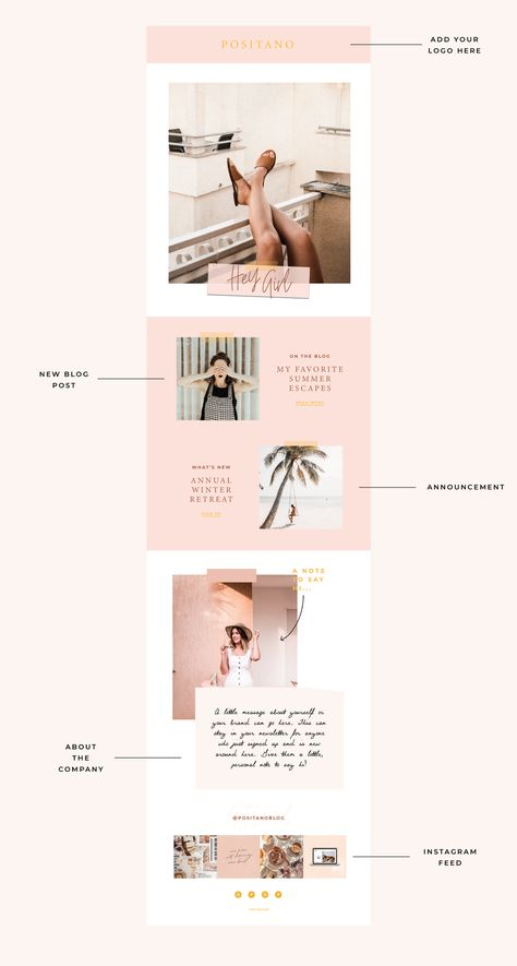 Positano Email Template