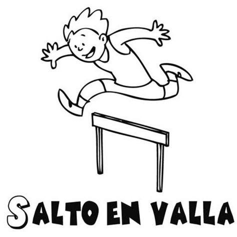 Resultado De Imagen Para Dibujar La Carreras De Obstaculos Y Vallas En Atletismo Deportes Para Colorear Ninos Haciendo Ejercicio Carrera De Vallas