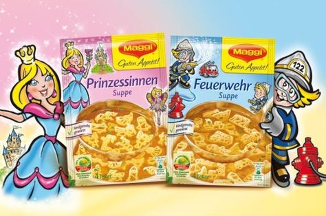 German soup packages for 'Princesses and Firefighters'
