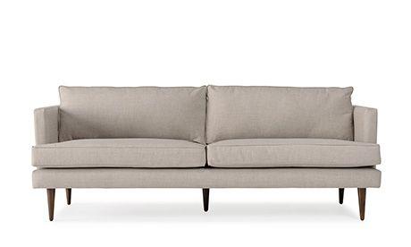 Preston 68 Sofa Buy Couch Mid Century Modern Furniture Custom Sofa