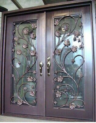 Details About Douglas Wrought Iron Doors Di 2020 Modern Pintu Depan Desain
