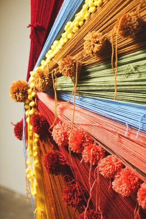 Color, yarn, texture.