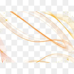Vector Abstract Lines Background Decorative Material Curved
