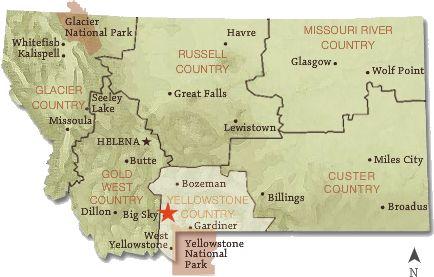 Montanas Regions Montana Living Pinterest Montana
