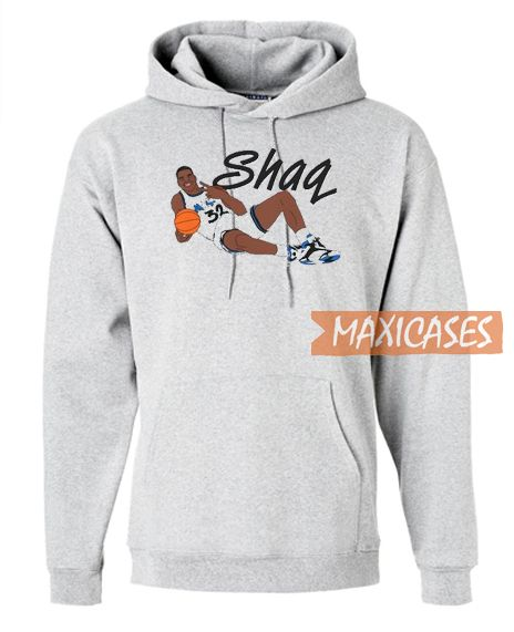Throwback Shaquille Hoodie Unisex Adult Size S To 3xl In