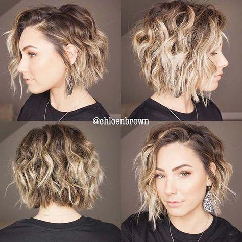 23 Layered Bob Haircuts We're Loving in 2020 Layered Bob Hairstyles, Classic Hairstyles, Short Bob Haircuts, Cool Hairstyles, Weave Hairstyles, Ponytail Hairstyles, Short Layered Bob Haircuts, Wedding Hairstyles, Short Wavy Bob