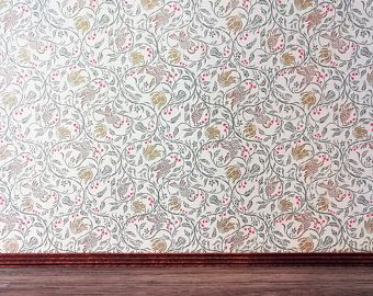 Dolls House Wallpaper Self Adhesive 1 12th Scale Vinyl Sheet Etsy In 2021 Doll House Wallpaper Vinyl Wallpaper Vinyl Sheets