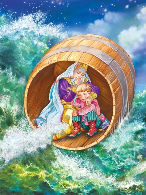 кануло картинки к сказке о царе салтане бочка по морю плывет этом году дружнее