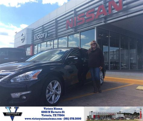Victory Nissan Victoria Tx >> Congratulations Karen On Your Nissan Altima From Robert