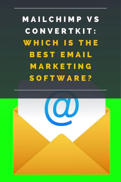 Mailchimp vs ConvertKit: Which Is The Best Email Marketing Software?