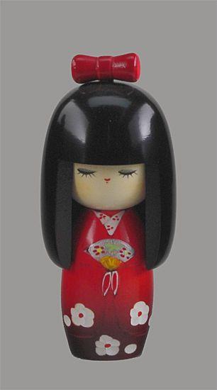 Kokeshi Puppen Original Japan Holzpuppe Japanpuppe Holzfigur