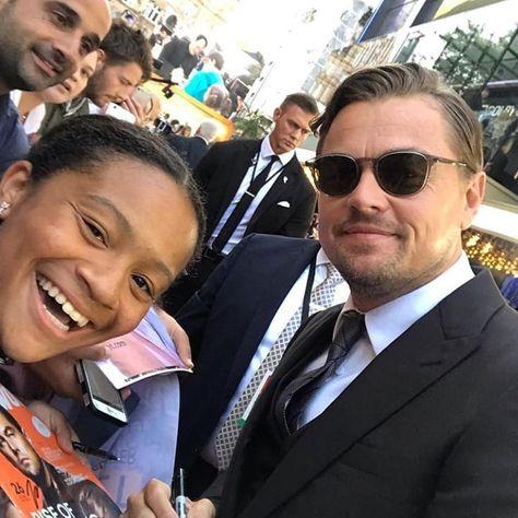 "Leonardo DiCaprio 🌱♻️ on Instagram: ""New pic of Leo with a fan 😍 #dicaprio #leodicaprio #leonardodicaprio #onceuponatimeinhollywood"""