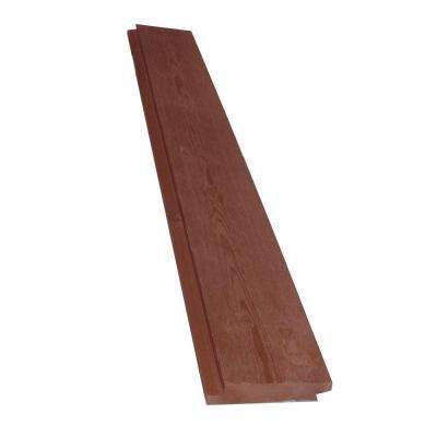 1 In X 6 In X 8 Ft Barn Wood Pre Finished Red Shiplap 6 Pieces Per Box Barn Wood Shiplap Pine Trim