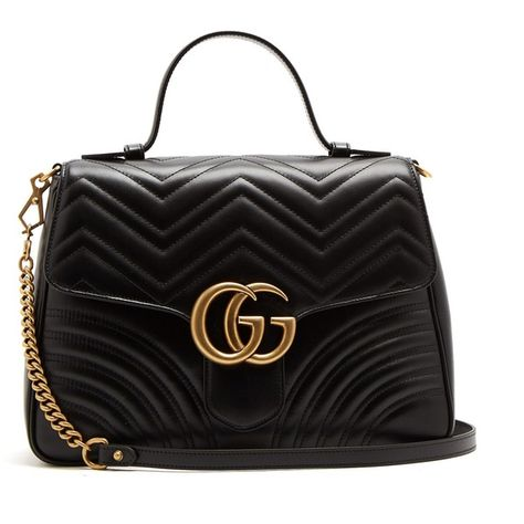 f75bd1f0d5d5 Gucci GG Marmont medium quilted-leather shoulder-bag (155.645 RUB) ❤ liked  on Polyvore featuring bags, handbags, shoulder bags, gucci purse, gucci  handbags ...