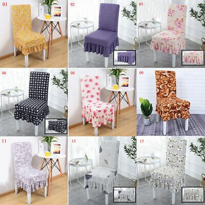 Advertisement Sweet Print Elastic Soft Dinning Chair Covers Protector Home Kitchen Slipcovers In 2020 Dinning Chair Covers Dinning Chairs Chair Covers