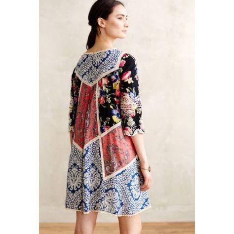 c19aec1654827 Anthropologie Dresses & Skirts - Vanessa Virginia Anthropologie Inez Swing  Dress