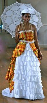 """Résultat de recherche d'images pour """"robe de mariée traditionnelle martiniquaise"""""""