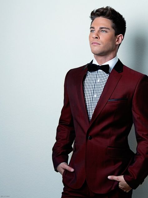 Love this outfit. Oh yes I am: Dean Geyer for Bello