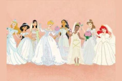 Abiti Da Sposa Walt Disney.Pin Di Claudia Vergni Su Disney Matrimonio Disney Disney Sposa