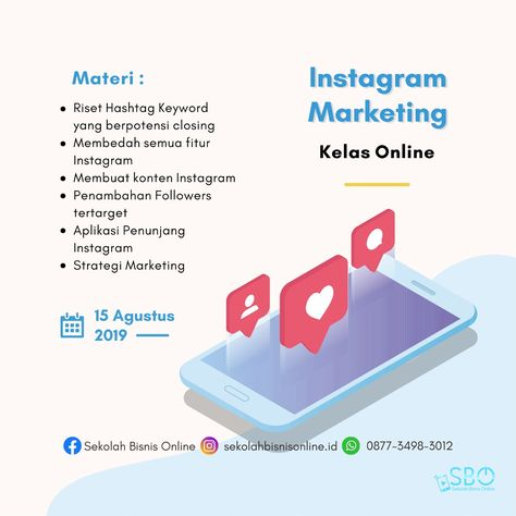 Pelatihan Instagram Web Pelatihan Instagram Adalah Pelatihan Instagram Ads Marketing Strategy Social Media New Business Ideas Marketing