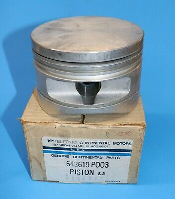 Ebay Sponsored Continental Ltsio 520 Tsio 520 Piston All Models Pn 643619 P003 New In Box In 2020 Pistons Things To Sell Ebay