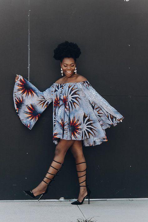 Maxi de vêtements tissu africain Ankara robe africaine