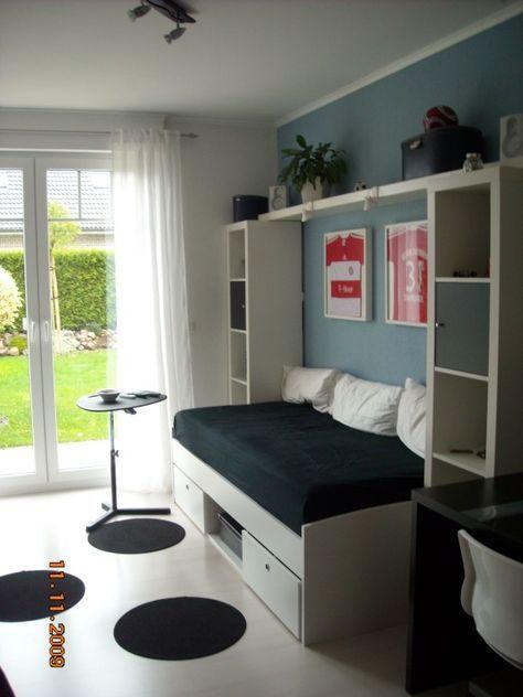 kleines-kinderzimmer-einrichten-ideen-maedchen-weisse-moebel - wandfarbe schlafzimmer weisse möbel