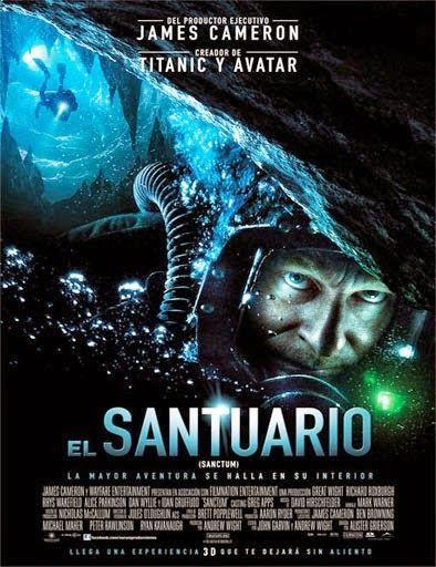 Ver El Santuario Sanctum 2009 Online Peliculas Online Gratis Sanctum Film Best Movie Posters Free Movies Online