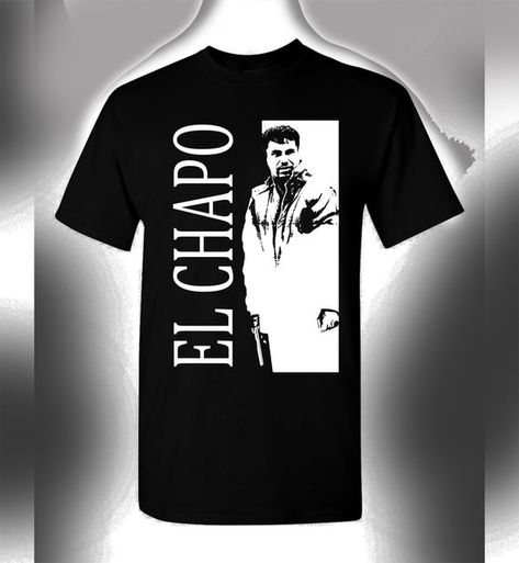 El Chapo T-Shirt Scarface Crossover